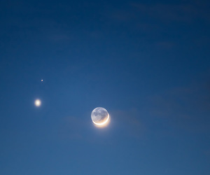 blue, mars, and planets image