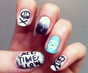 nails and all time low image