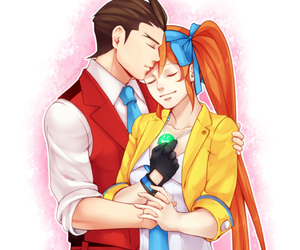 apollo justice, not mine, and ace attorney image