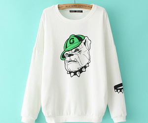 clothing, printed, and sweaters image