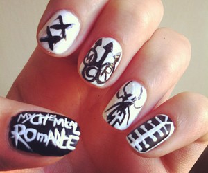 mcr, my chemical romance, and nails image