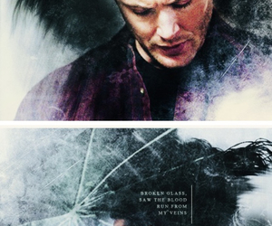 broken, dean winchester, and supernatural image