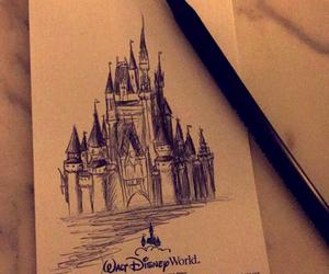 walt disney, castle, and disney image