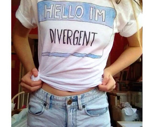divergent, clothes, and hello image