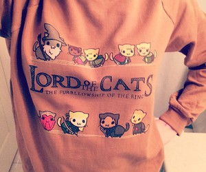 cats, hobbit, and lord of the rings image