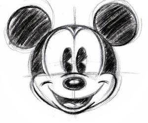 disney, drawing, and illustration image
