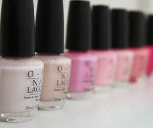 nail polish, opi, and pink image