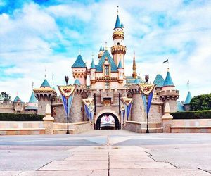 disney, disneyland, and castle image