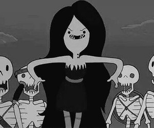 black & white, Queen, and vampire image