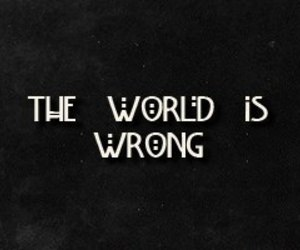 wrong, world, and ahs image