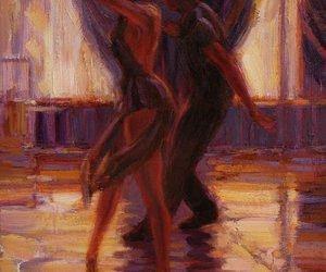 art, beautiful, and dancing image