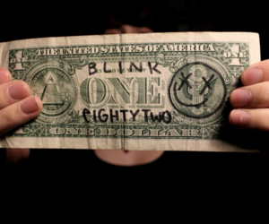 blink-182, dollar, and photography image