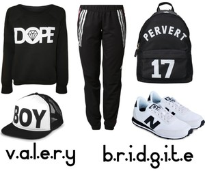 adidas, hip-hop, and sporty image