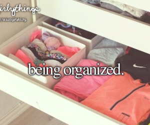 girl, organized, and summer image