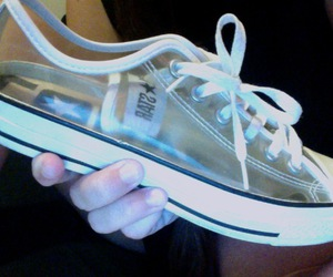 shoes, converse, and pale image