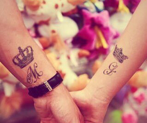love and tattoo image
