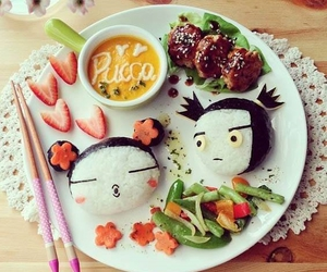 food, bento, and pucca image
