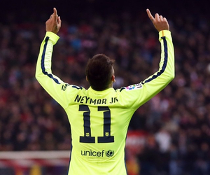 neymar jr, football, and Barca image