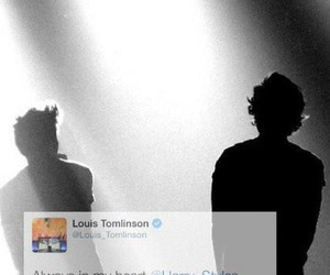 larry, lockscreen, and louis tomlinson image