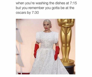 funny, Lady gaga, and oscar image