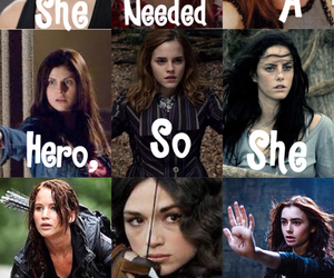 hero, divergent, and harry potter image