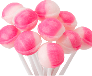 pink, lollipop, and white image