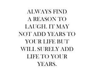laugh and life image