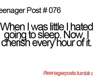 teenager post, sleep, and true image