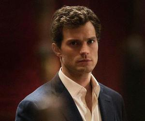 fifty shades of grey, Jamie Dornan, and christian grey image