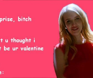 funny, valentine, and ahs image
