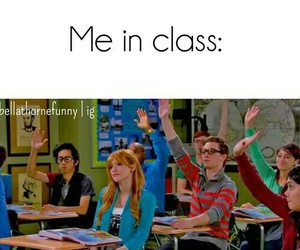 class, funny, and me image