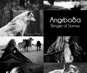 norse mythology and angrboda image
