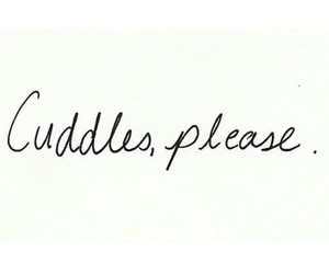 cuddle and quote image