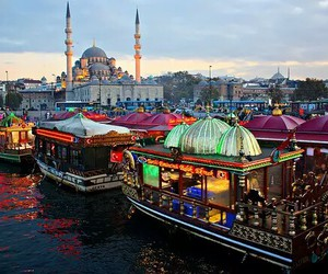 mosque, islam, and istanbul image