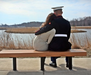 Marines and love image