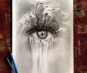 deep, drawing, and inspirational image