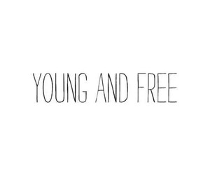 and, free, and young image