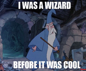 cool, funny, and merlin image
