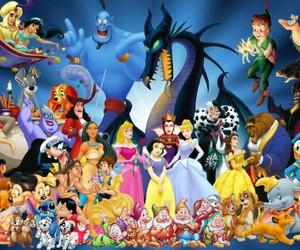 disney, childhood, and character image