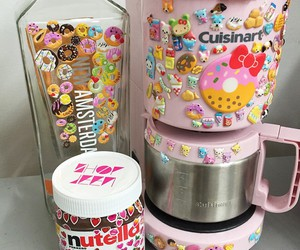 colors, funny, and nutella image