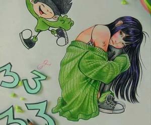 3, anime, and fanart image