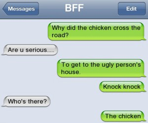 bff, Chicken, and funny image