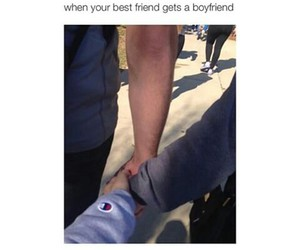 boyfriend, funny, and best friends image