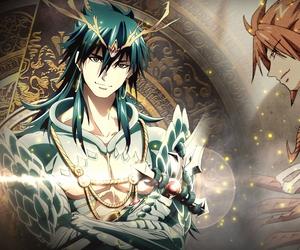 anime, Sinbad, and magi image