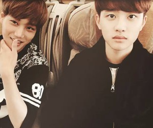 exo, kai, and kaisoo image