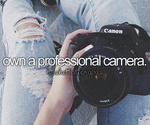 bucket list, camera, and bucketlist image