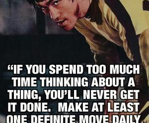 quote, bruce lee, and goals image