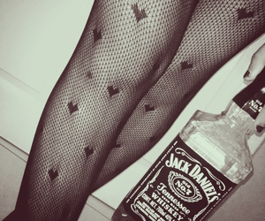 heart, whisky, and jack daniels image