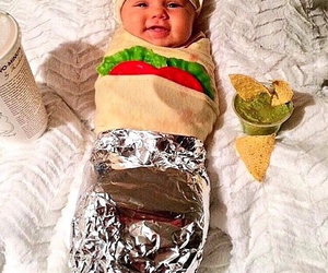 baby, tapas, and burrito image