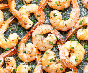 shrimp and food image